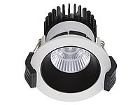 LED встраиваемый светильник IP20, Световые технологии COOL 13 WH/BL D45 3000K [1412000240], фото 1