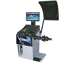 Балансировочный станок BOGUL с автоматическим измерением, ЖК-монитором, УЗ-сонаром и лазерным указател ANDRMAX