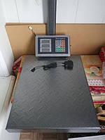 Весы торговые товарные 300-350кг 42*52см электронные веса складские напольные платформенные хозяйственные