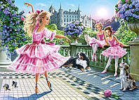 Детские пазлы Балерины на 180 элементов Сastorland