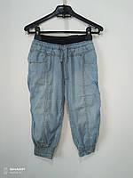 Капри джинсовые, размер 9-10 лет