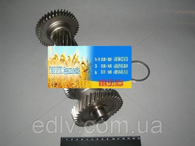 Вал промежуточный КПП ГАЗ 3302 5-ступенч без подшика (блок шестерен) (пр-во ГАЗ) 3302-1701310