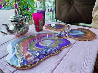 Форма подставки для посуды 1
