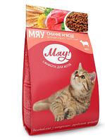 Сухой корм Мяу! в ассортименте для взрослых котов 400 гр