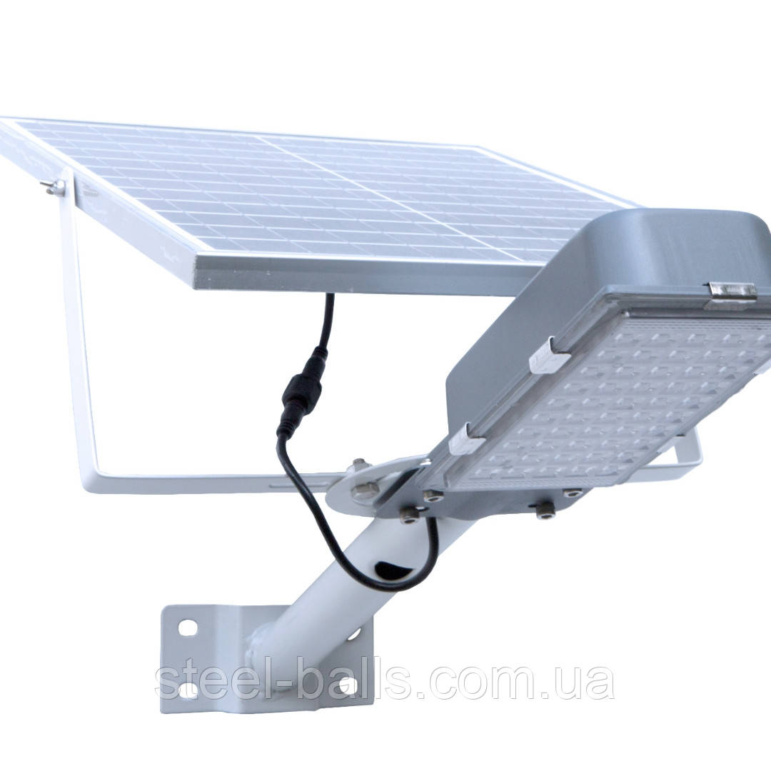Уличный LED светильник HY-JW-28 с солнечной панелью  120w