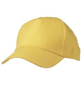 Кепка однотонная Золотисто-Жёлтый