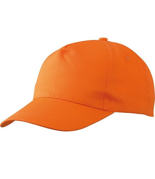 Кепка однотонная Оранжевый