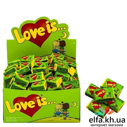 Жвачка Love is Яблоко-Лимон 50 шт, фото 2