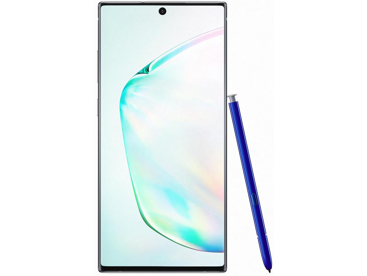 Смартфон Samsung Galaxy Note 10 Plus SM-N975F 12/256GB Aura Glow (SM-N975FZSD)