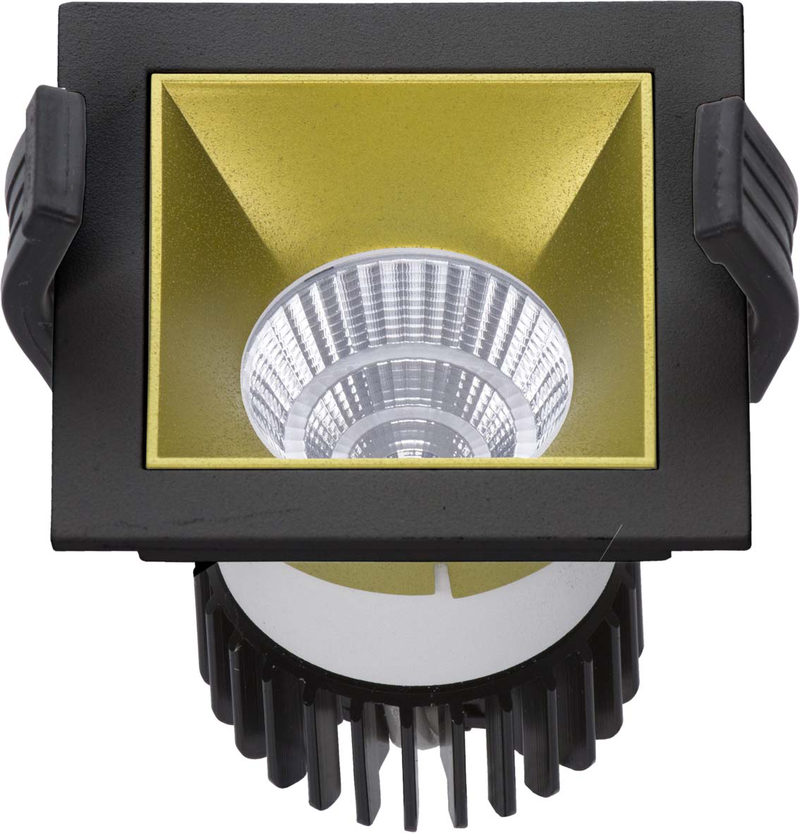 LED встраиваемый светильник IP20, Световые технологии SOON 07 BL/GL D45 4000K [1442000220]