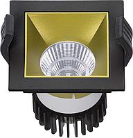 LED встраиваемый светильник IP20, Световые технологии SOON 07 BL/GL D45 4000K [1442000220], фото 1
