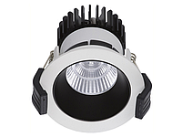 LED встраиваемый светильник IP20, Световые технологии COOL 13 BL/WH D45 4000K [1412000330], фото 1