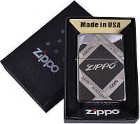 Зажигалка бензиновая Zippo в подарочной упаковке №4727-3