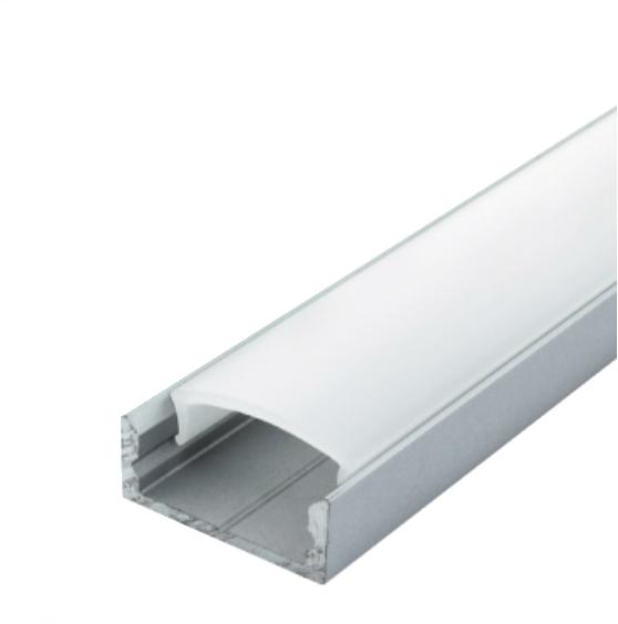 Комплект профиль Biom алюм. ЛП7 анод + рассеиватель