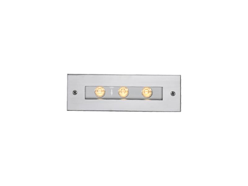 LED светильники встраиваемые в стену IP65, Световые технологии DECA LED 6 3000K [1100500050]