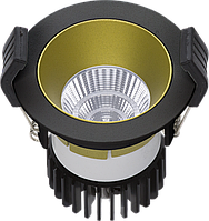 LED встраиваемый светильник IP20, Световые технологии COOL 13 BL/GL D45 3000K [1412000390], фото 1