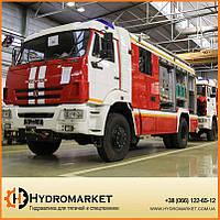 Гидравлика  на  пожарные машины
