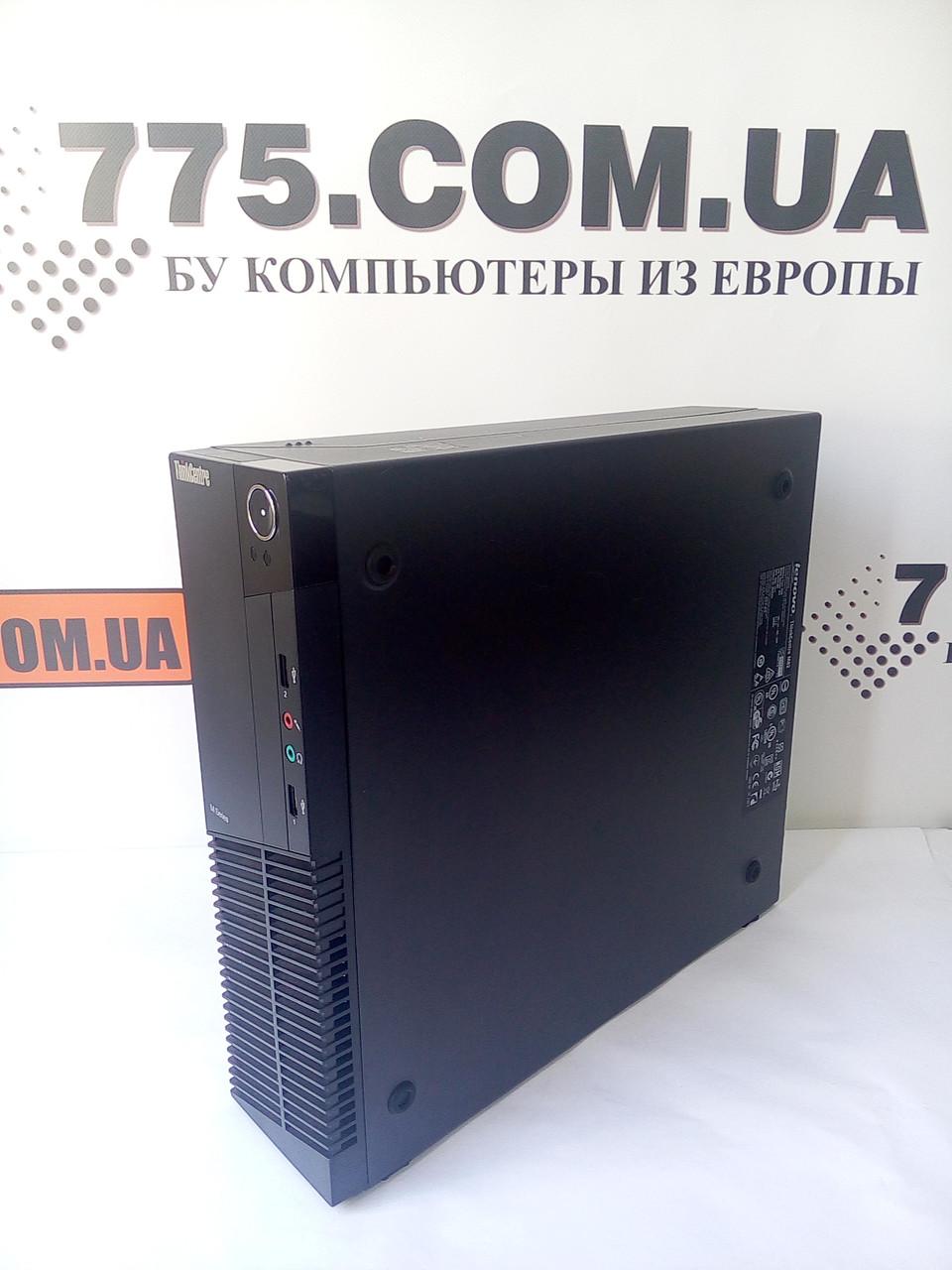 Компьютер Lenovo M82 (Desktop), Intel Core i7-3770 3.80GHz, RAM 8ГБ, HDD 500ГБ (SSD 120ГБ)