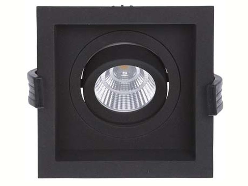 LED встраиваемый светильник IP20, Световые технологии RADO 07 BL D45 4000K [1278000110]