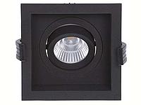 LED встраиваемый светильник IP20, Световые технологии RADO 07 BL D45 4000K [1278000110], фото 1