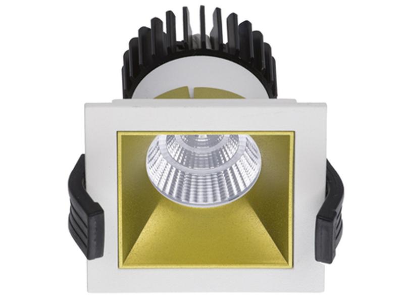 LED встраиваемый светильник IP20, Световые технологии SOON 07 WH/GL D45 3000K [1442000090]