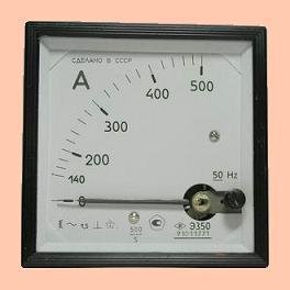 Амперметр Э350  600А  600/5