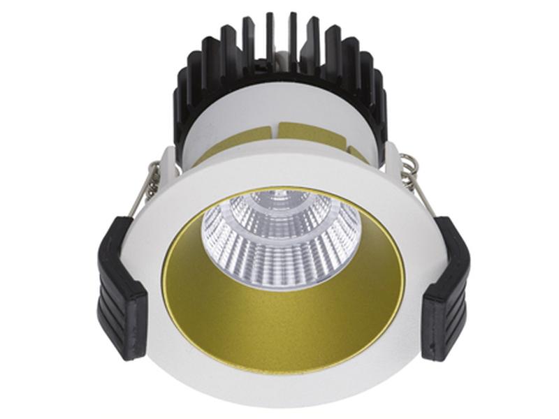 LED встраиваемый светильник IP20, Световые технологии COOL 07 WH/GL D45 3000K [1412000040]