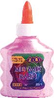 Клей ZiBi МЕТАЛІК, на PVA-основі, 88 мл, рожевий (ZB.6117-10)