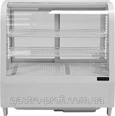 Витрина кондитерская холодильная 100 л белая YatoGastro YG-050210