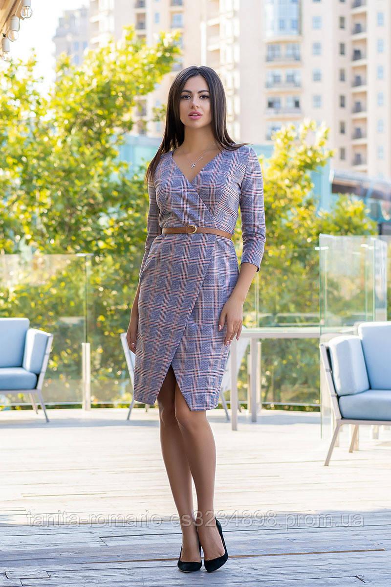 Повседневное платье 9184e Электрик S(р)