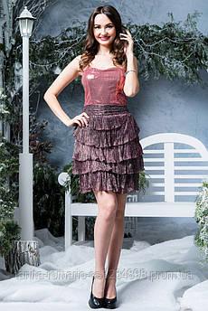 Платье 3386/6e Фрезовый M(р)