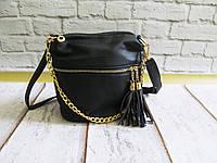 Женская стильная сумка на молнии с цепочкой 009