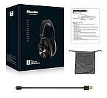 Навушники безпровідні Bluedio T6S з шумозаглушенням (чорні), фото 9