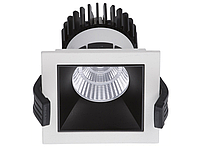 LED встраиваемый светильник IP20, Световые технологии SOON 13 WH/BL D45 4000K [1442000300], фото 1