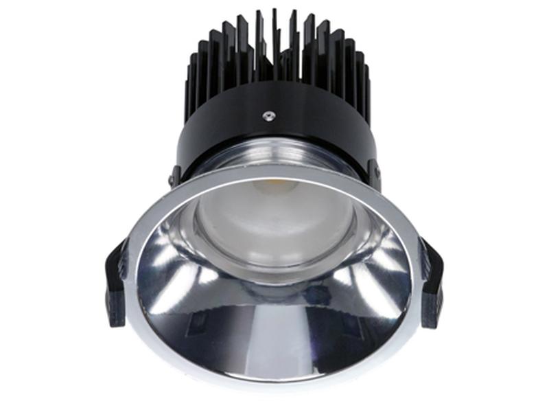 LED встраиваемый светильник IP20, Световые технологии OKKO 18 WH 4000K [1235001130]
