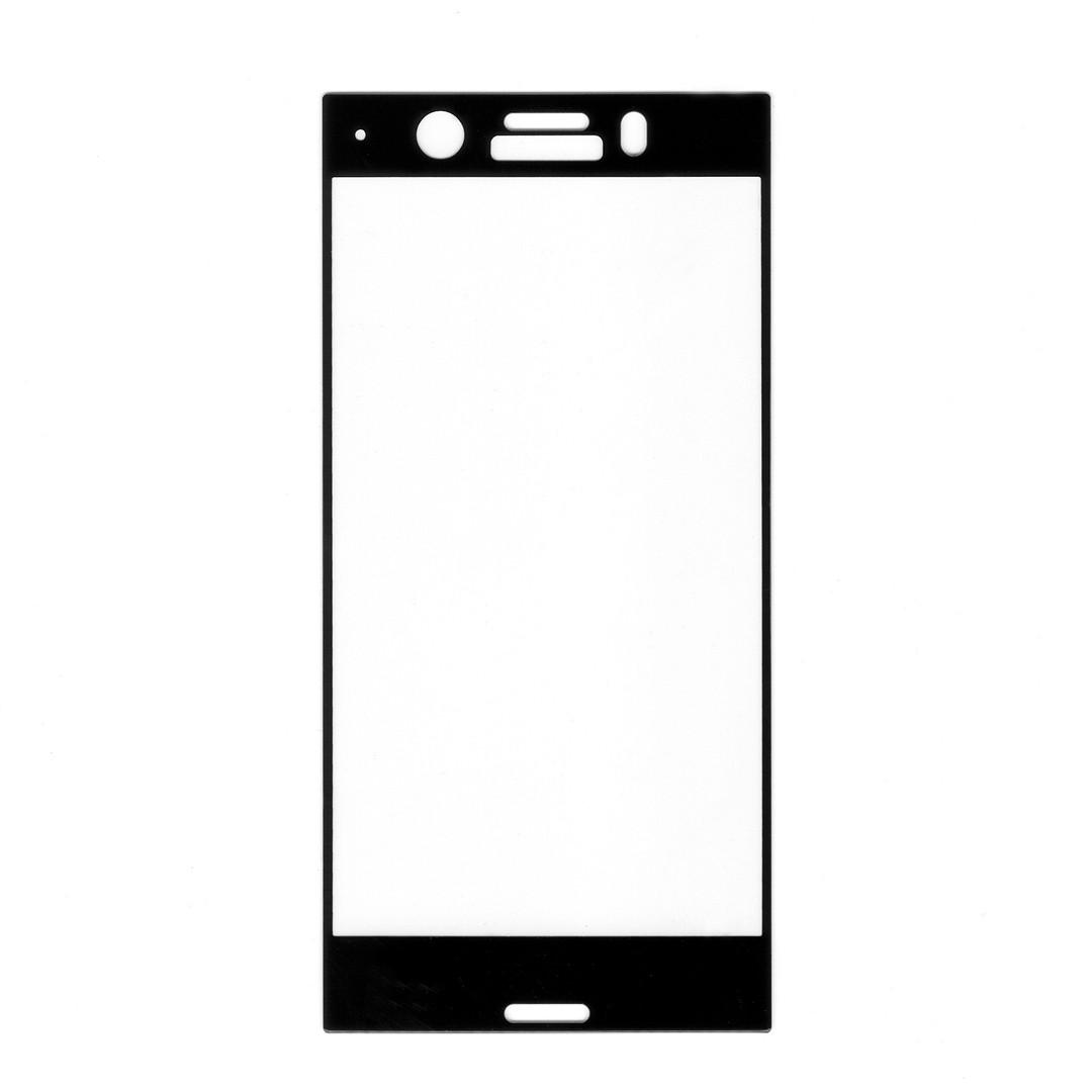 Защитное стекло для Sony Xperia XZ1 Compact (g8441), Full Cover, Black silk