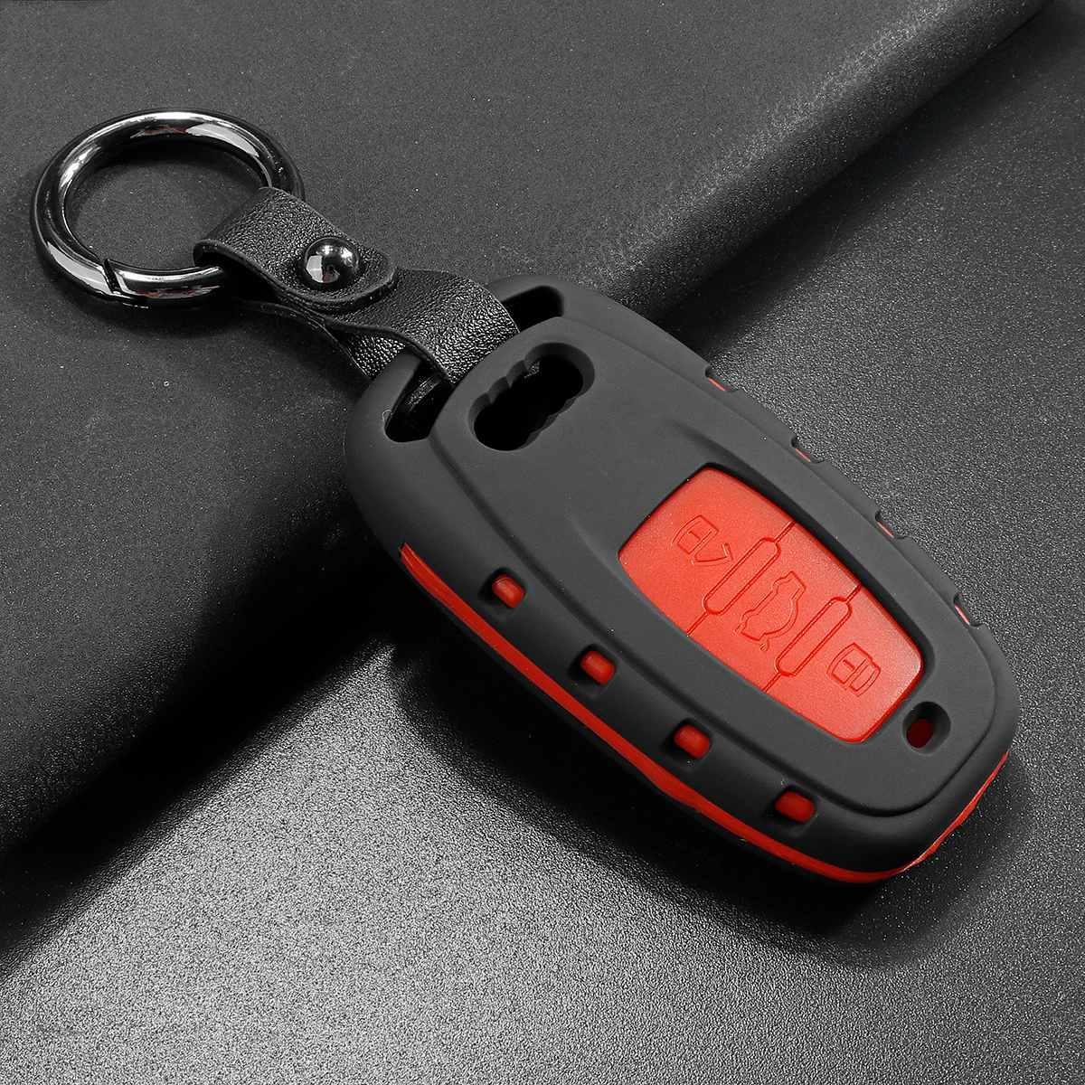 Матовый чехол для ключа Audi A1,A3,A4,A5,A6,A6 ALLROAD QUATTRO,A7,A8,Q2,Q3,Q5,Q7,Q8,R8,RS Q3,RS3,RS4,RS5