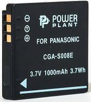 Aккумулятор PowerPlant Panasonic CGA-S008, DB-70, DMW-BCE10