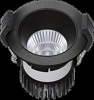 LED встраиваемый светильник IP20, Световые технологии COOL 07 BL/BL D45 4000K [1412000130], фото 1