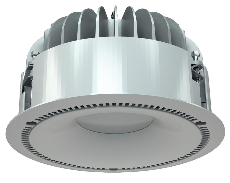 LED светильники IP20, Световые технологии DL POWER LED 40 D80 HFD 4000K [1170001460]