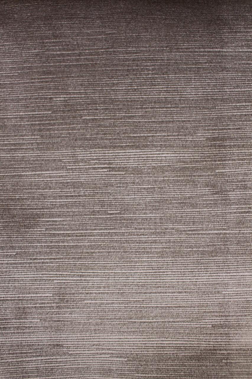 Однотонный бархат для штор темно-коричневый цвет