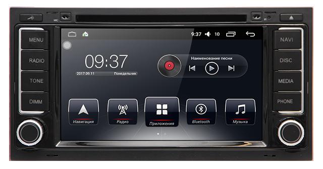 Штатная автомагнитола AudioSourceS T90-710A для Touareg 2002-2010, Multivan 2007+