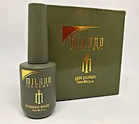 Milano Luxury 15 ml, Rubber Base Gel (с кисточкой)