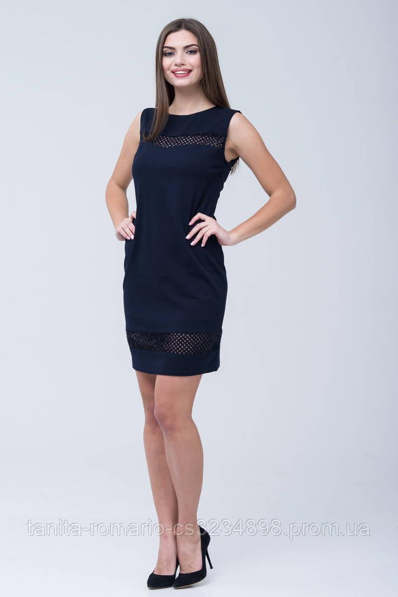 Вечернее платье 7274e Синий S(р)