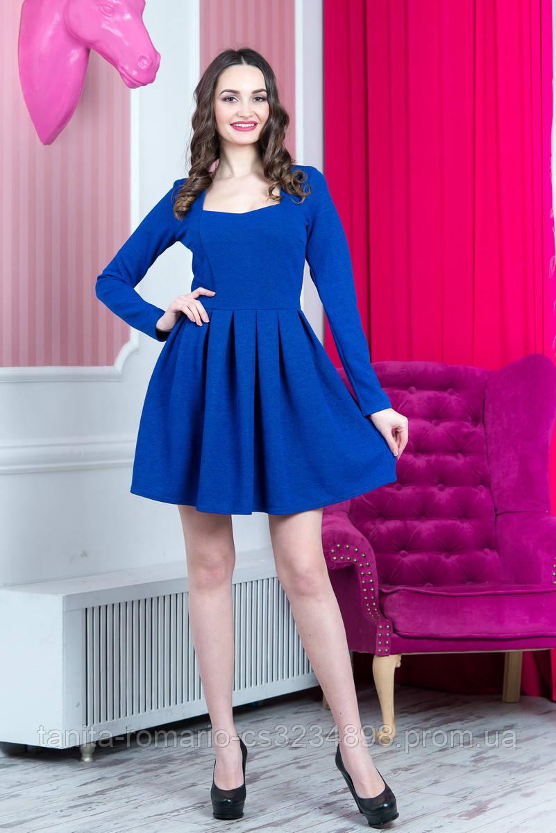 Коктейльное платье 6274e Электрик L(р)