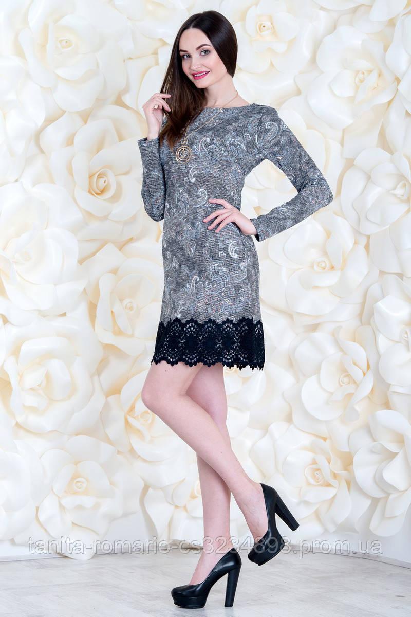 Коктейльное платье 6260e Бирюза L(р)