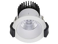 LED встраиваемый светильник IP20, Световые технологии COOL 13 WH/WH D45 4000K [1412000210], фото 1