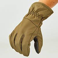 Перчатки для охоты, рыбалки и туризма теплые флисовые (закрытые пальцы, р-р L-2XL)