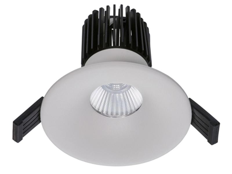 LED встраиваемый светильник IP20, Световые технологии FIORE 13 WH D45 4000K [1237000090]