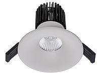 LED встраиваемый светильник IP20, Световые технологии FIORE 13 WH D45 4000K [1237000090], фото 1